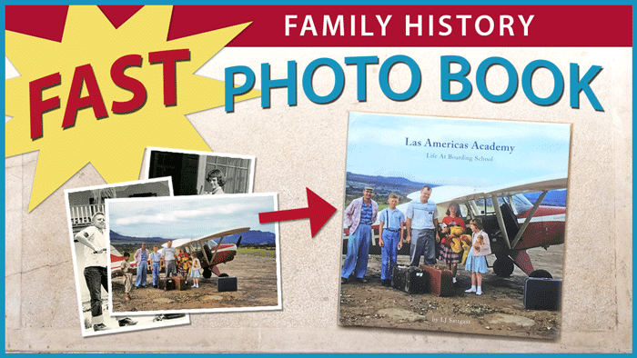Fast Family History Photo Book