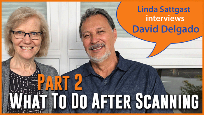 What To Do With Photos After Scanning: Interview with David Delgado Part 2
