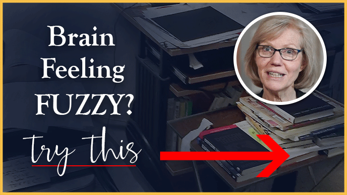 Brain Feeling Fuzzy? Do This!