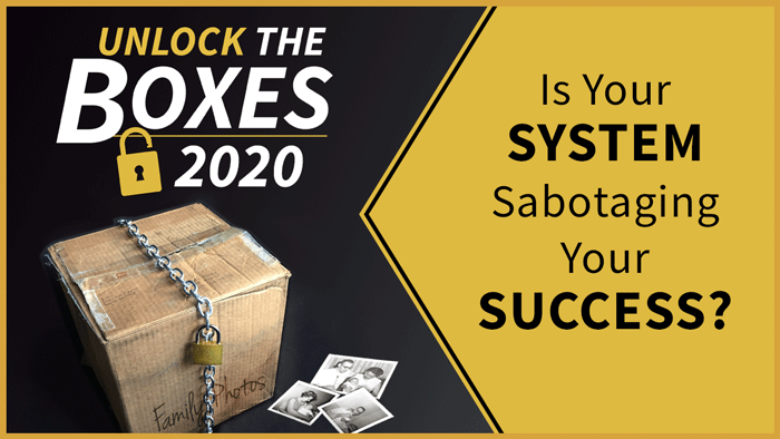 Announcement! PLUS Is Your System Sabotaging Your Success?
