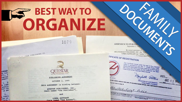 How To Organize Family Documents